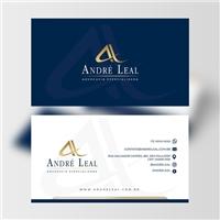 André Leal Advocacia Especializada, Logo e Identidade, Advocacia e Direito