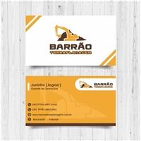 BARRAO TERRAPLANAGEM, Logo e Identidade, Construção & Engenharia