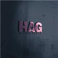 HAG IMPORTADORA, Logo e Identidade, Alimentos & Bebidas