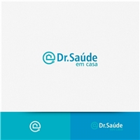 DR. SAÚDE EM CASA, Logo e Identidade, Saúde & Nutrição