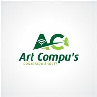 Art Compu's, Logo e Identidade, Computador & Internet