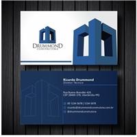Drummond Construtora Ltda - EPP , Logo e Identidade, Construção & Engenharia
