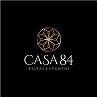 casa 84 - Casa de festas, Logo e Identidade, Planejamento de Eventos