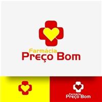 Farmácia Preço Bom, Logo e Identidade, Saúde & Nutrição