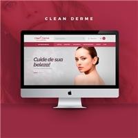 Clean Derme Estética e Bem estar, Web e Digital, Beleza