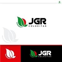 Jgr colheitas , Logo e Identidade, Logística, Entrega & Armazenamento