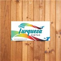 TURQUESA TINTAS, Logo e Identidade, Construção & Engenharia