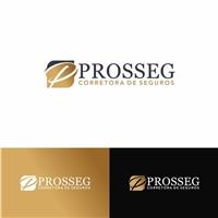 PROSSEG CORRETORA DE SEGUROS, Logo e Identidade, Contabilidade & Finanças