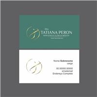 Dra Tatiana Peron Geriatria e Clínica Médica, Logo e Identidade, Saúde & Nutrição