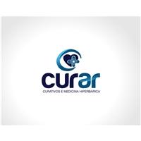 CURAR - Curativos e Medicina Hiperbárica, Logo e Identidade, Saúde & Nutrição