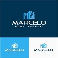 marcelo construfacil, Logo e Identidade, Construção & Engenharia