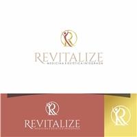 Revitalize   Medicina e estética integrada., Logo e Identidade, Saúde & Nutrição