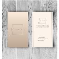 Priscilla Magioni - Arquitetura e Interiores, Logo e Identidade, Arquitetura