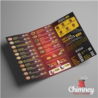 Chimney Pizza 'n' cookie, Apresentaçao, Alimentos & Bebidas