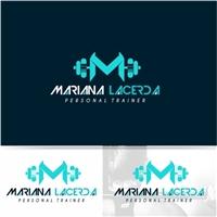 Mariana Lacerda Personal Trainer, Logo e Identidade, Saúde & Nutrição