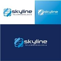 skyline telerradiologia, Logo e Identidade, Saúde & Nutrição
