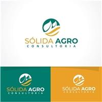 sólida agro, Logo e Identidade, Consultoria de Negócios