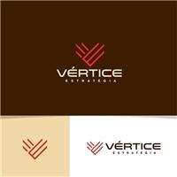 vértice estratégia, Logo e Identidade, Consultoria de Negócios