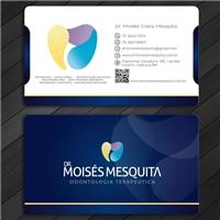 Dr. Moisés Mesquita - Odontologia Terapeutica, Logo e Identidade, Saúde & Nutrição