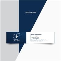 Clínica Dom - Especialidades Médicas e Coworking, Logo e Identidade, Saúde & Nutrição