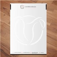 Dr Tibério Miranda - cirurgia ginecologica e reposição hormonal, Logo e Identidade, Saúde & Nutrição