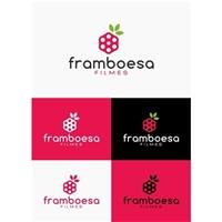 Framboesa Filmes, Logo e Identidade, Artes, Música & Entretenimento