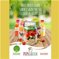 Papa Green, Peças Gráficas e Publicidade, Alimentos & Bebidas