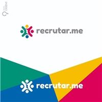 Recrutar.me, Logo e Identidade, Tecnologia & Ciencias
