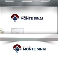 Clinica Monte Sinai, Logo e Identidade, Saúde & Nutrição