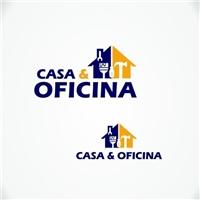 Casa e Oficina, Logo e Identidade, Construção & Engenharia