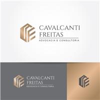 Cavalcanti Freitas Advocacia e Consultoria, Logo e Identidade, Advocacia e Direito