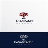CASAGRANDE CONSULTORIA, Logo e Identidade, Consultoria de Negócios
