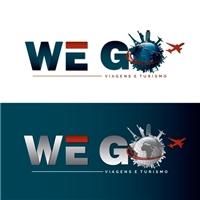We Go Viagens e Turismo, Logo e Identidade, Viagens & Lazer