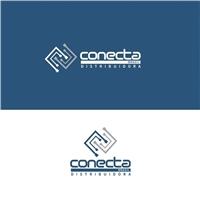 CONECTA BRASIL DISTRIBUIDORA, Logo e Identidade, Computador & Internet