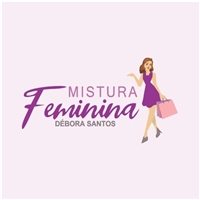 Mistura feminina -Débora Santos , Logo e Identidade, Roupas, Jóias & acessórios