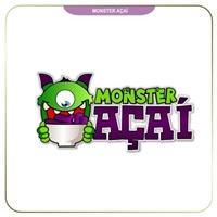 Monster Açai, Logo e Identidade, Alimentos & Bebidas
