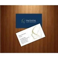 FaceVital, Logo e Identidade, Saúde & Nutrição