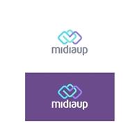 midiaup, Logo e Identidade, Marketing & Comunicação