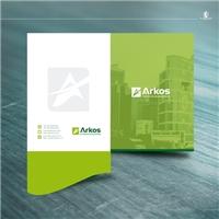 Arkos Gestão de Condomínios , Logo e Identidade, Imóveis