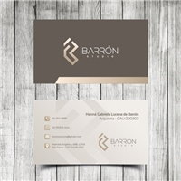 Barrón Studio (Arquitetura, Design e Engenharia), Logo e Identidade, Arquitetura