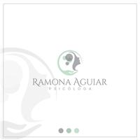 Psicóloga Ramona Aguiar, Logo e Identidade, Saúde & Nutrição