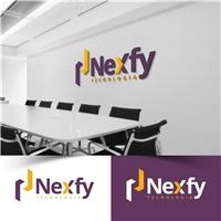 Nexfy, Logo e Identidade, Computador & Internet