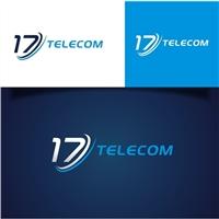 17 Telecom, Logo e Identidade, Computador & Internet