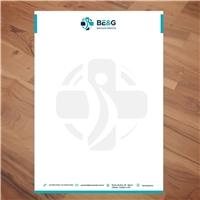 BE&G Serviços Médicos, Logo e Identidade, Saúde & Nutrição