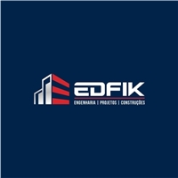 EDFIK Engenharia projetos e construções, Logo e Identidade, Construção & Engenharia