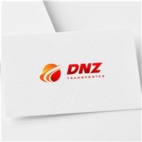 DNZ TRANSPORTES , Logo e Identidade, Logística, Entrega & Armazenamento