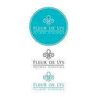Fleur de Lys Sorvetes Artesanais, Logo e Identidade, Alimentos & Bebidas
