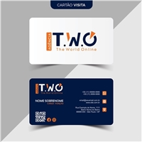 Agência T.W.O. (The World Online), Logo e Identidade, Marketing & Comunicação
