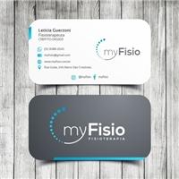 MyFisio, Logo e Identidade, Saúde & Nutrição