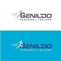Genildo Personal Trainer, Logo e Identidade, Saúde & Nutrição